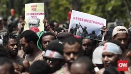 Massa Anti-rasisme Gelar Aksi di Tiga Kabupaten di Papua