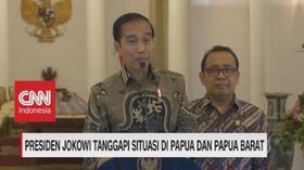 VIDEO: Jokowi Tanggapi Situasi di Papua & Papua Barat