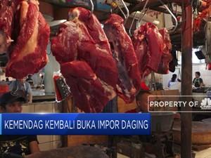 Kemendag Kembali Buka Impor Daging