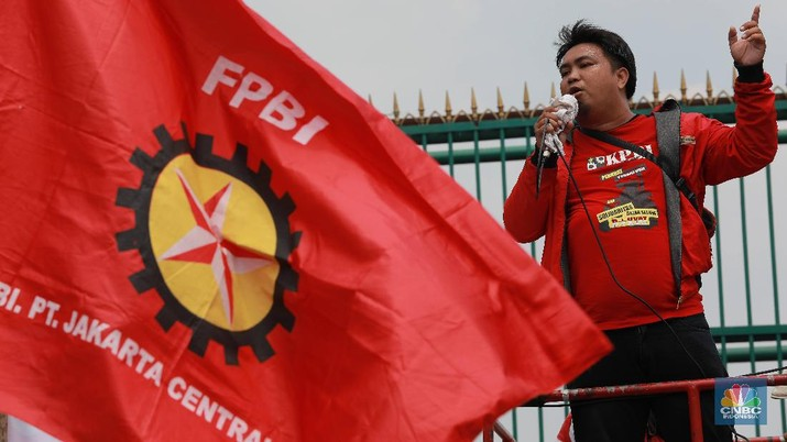 Pentolan Buruh Sempat Merapat ke Istana, Jelang Demo di DPR