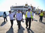 Wah, Muatan Balik Kapal Tol Laut Jokowi Masih Sering Kosong