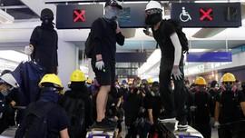 Pedemo Hong Kong Bersiap Lumpuhkan Akses Bandara Akhir Pekan