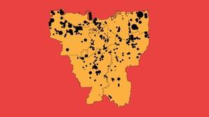 INFOGRAFIS: Sebaran Kawasan Kumuh DKI Jakarta