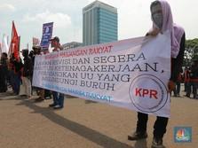 Istilah 'Kanebo Kering' UU Naker Pancing Reaksi Buruh