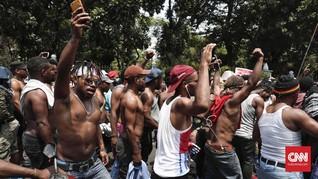 Bubar Demo di Istana, Massa Aksi Papua Singgah di LBH Jakarta