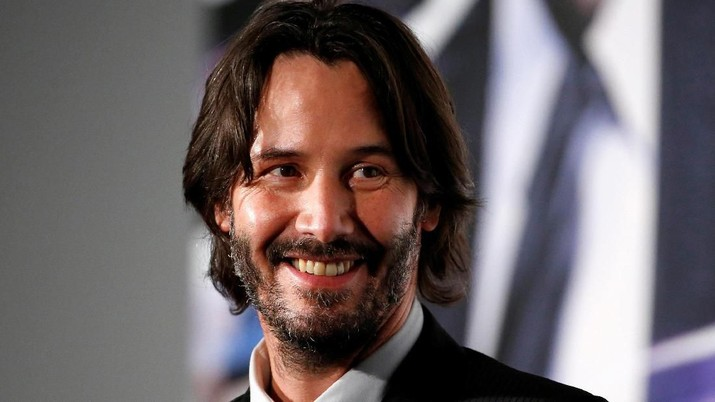 "Keanu Reeves attends a promotional event for ""John Wick: Chapter 2"" in Tokyo, Japan, on June 13, 2017. Photo: Reuters/Kim Kyung-Hoon"
