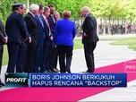 Temui Kanselir Jerman Boris Johnson Bersikukuh Hapus Backstop
