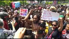 VIDEO: Demo Mahasiswa Papua di Jakarta Ricuh