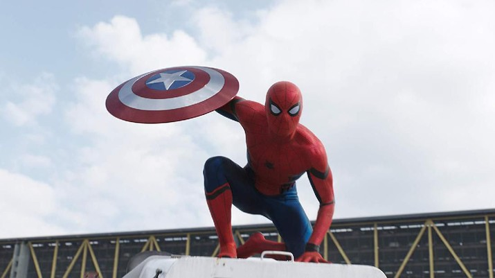 Spider-Man dalam Captain America: Civil War (2016) (ist via IMDB)