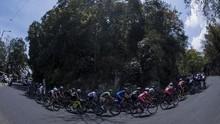 Hasil Etape 4 Tour d'Indonesia 2019: Metkel Eyob Juara
