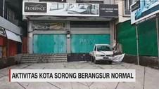 VIDEO: Aktivitas Kota Sorong Berangsur Normal