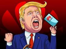 Panas Dingin Hubungan Donald Trump Dengan Huawei