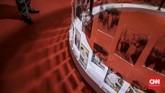Pada kegiatan ini dipamerkan 400 arsip foto, 134 arsip tekstual, dan 10 arsip film yang semuanya bebas diakses pengunjung.(CNN Indonesia/Bisma Septalisma)
