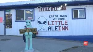 VIDEO: 'Kota Alien' di Amerika Bersiap Diserbu Turis