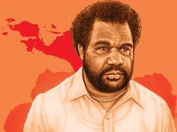 Lenis Kogoya, Kepala Suku Papua di Lingkaran Istana