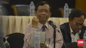 Mahfud Respons SBY: Dorongan Pemerintah Lebih Kuat