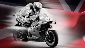 Mengejar Finis MotoGP Inggris