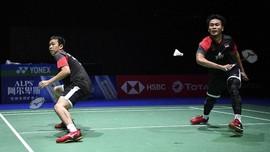 Kalahkan Fajar/Rian, Ahsan/Hendra ke Final Kejuaraan Dunia