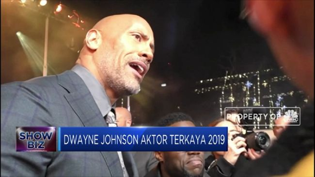 Top! Dwayne Johnson Aktor Terkaya 2019
