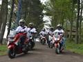 Komunitas Skutik Rayakan Hari Kemerdekaan di Bogor