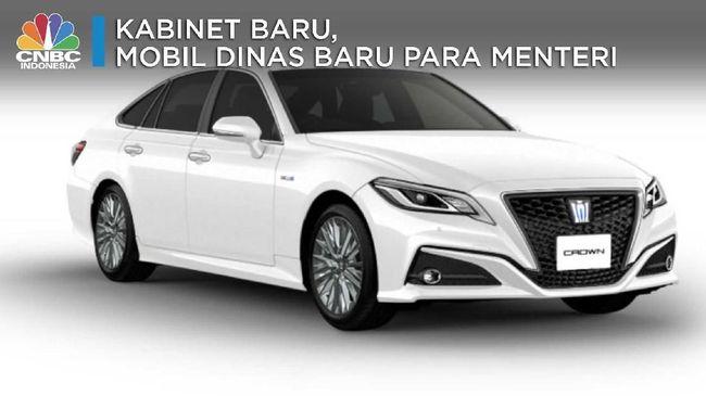 ASII Kabinet Baru, Mobil Dinas Baru Para Menteri