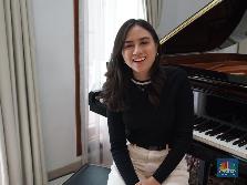 Andrea Turk, Cicit WR Supratman yang Piawai Bernyanyi