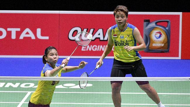 Greysia/Apriyani Dihentikan Chang/Kim di Denmark Open
