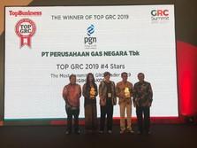 PGN Borong 2 Penghargaan pada Top GRC 2019