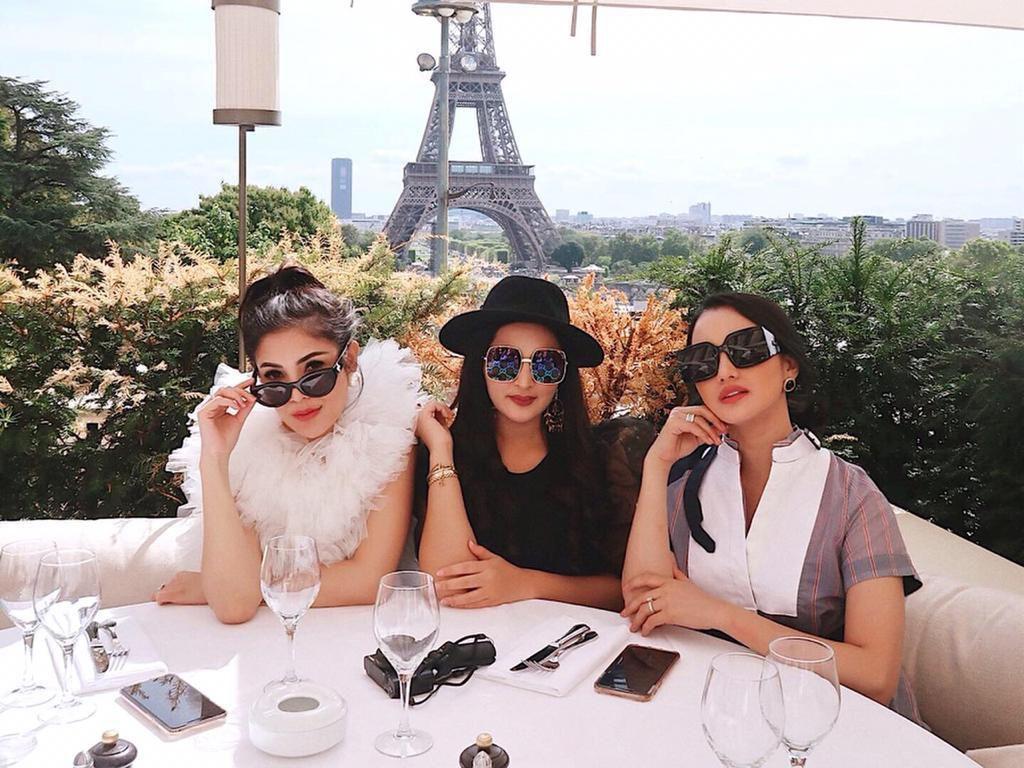 Gaya Mewah Nindy Girls' Day Out Bareng Ashanty dan Ririn Ekawati di Paris