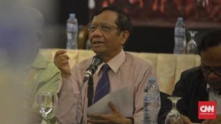 Mahfud MD: Presiden Punya Kewenangan Pindahkan Ibu Kota