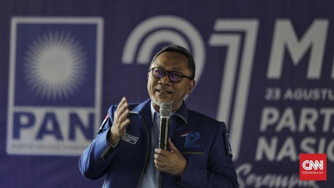 Zulhas Diklaim Kandidat Terkuat Ketum PAN 2020-2025