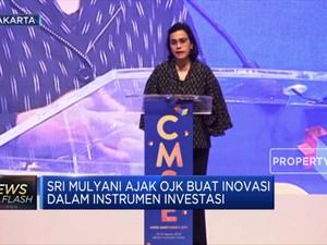 Sri Mulyani Ajak OJK Buat Inovasi Instrumen Investasi