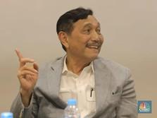 Luhut Bicara Arak Bali yang Dipercaya Anti Covid-19