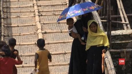VIDEO: Ribuan Rohingya Menolak Dipulangkan ke Myanmar