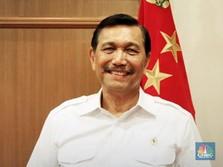 Live! Luhut Buka-Bukaan Soal Nikel & Utak-Atik Kabinet Jokowi