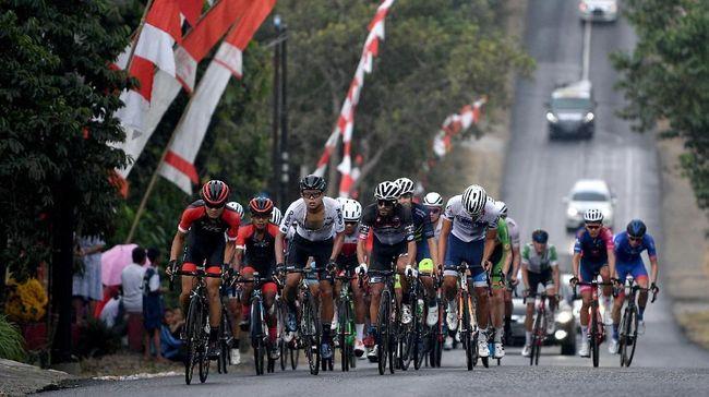 Thomas Lebas Juara Tour d' Indonesia 2019