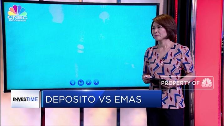 Live! Investasi Deposito Vs Emas, Mana Lebih Untung?