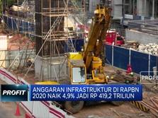 Anggaran Infrastruktur Naik Menjadi Rp 419,2 Triliun