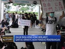 Unjuk Rasa Hong Kong Memuncak, Pelajar Turun Ke Jalan