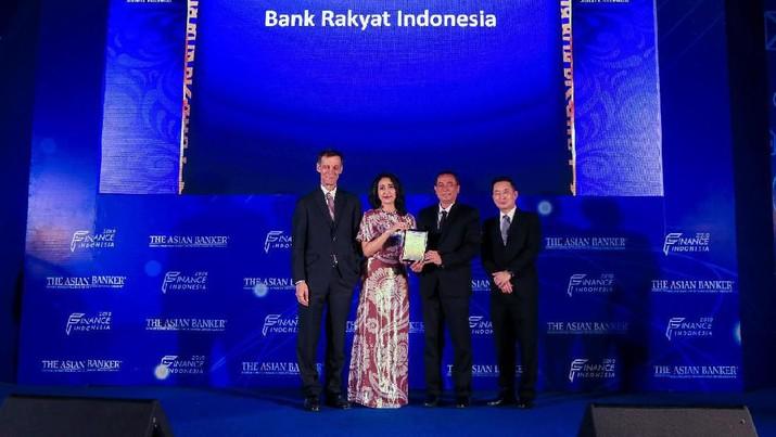 BRI dapat penghargaan sebagai KPR terbaik di Indonesia dari The Asian Banker Indonesia Award 2019