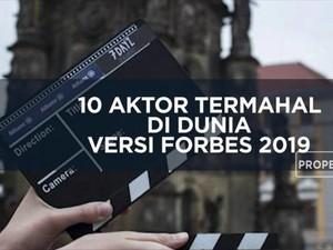 Deretan Aktor Terkaya Forbes 2019