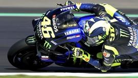 Marquez Pole di MotoGP Inggris, Rossi Kedua