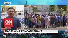 VIDEO: WNA Pencari Suaka Harapkan Bantuan dari Pemerintah