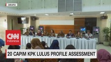VIDEO: 20 Capim KPK Lulus Profile Assessment