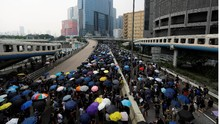 Usai Bentrok, Pedemo Kembali Berkumpul di Hong Kong