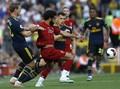 Liverpool Unggul 1-0 atas Arsenal di Babak Pertama