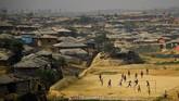 Ini merupakan kegagalan kedua upaya pemulangan etnis Rohingnya dari Bangladesh ke Myanmar. (REUTERS/Clodagh Kilcoyne/File Photo)