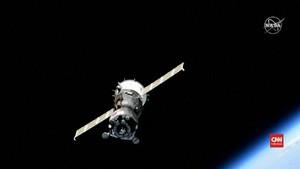 VIDEO: Pesawat Ruang Angkasa Rusia Gagal Mendarat di ISS
