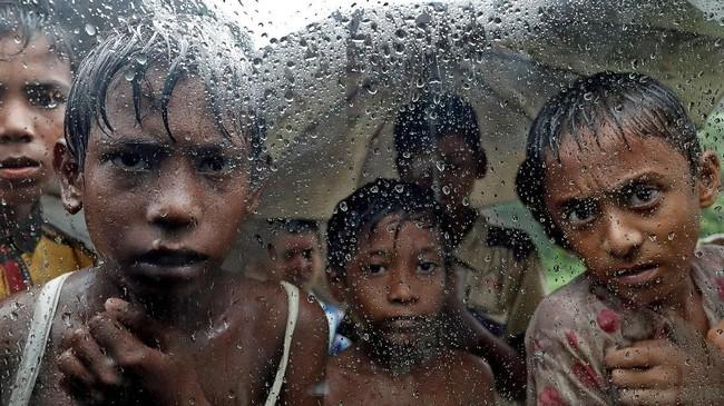 Sejak Agustus 2017 lebih dari 500 juta etnis Rohingya meninggalkan kampung halaman mereka di negara bagian Rakhine.(REUTERS/Cathal McNaughton/File Photo)