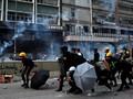 Demo Akhir Pekan di Hong Kong Kembali Ricuh